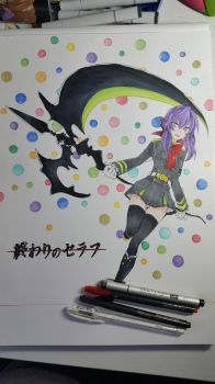 Owari no Seraph - Shinoa Hiragi by TheSassyFox