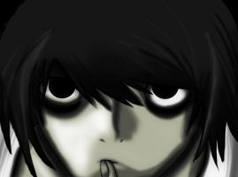 L Lawliet by Brooklyn1237