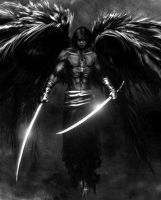Fallen Dark Angel by unlimitedduo