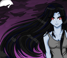 Midnight Marceline by hanyou-lover1