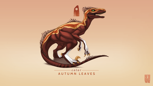 Autumn Leaves Exclusive Raptor by Blackpassion777