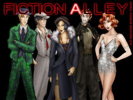 Fiction Alley Chicago Parody by priscellie