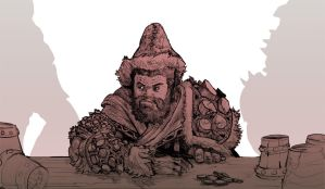 Dwarf by Stephen-0akley