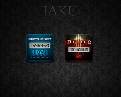 Battle.net for Jaku iOS Theme by pedrocastro