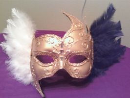 Masquerade mask by Lioness123