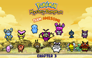 PMD Team Awesome Chapter 3 Cover by PDoogan