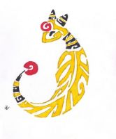 Ampharos Tribal by Skrayle