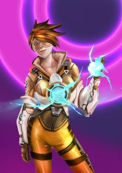Overwatch (Tracer) by newsun1236