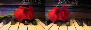 Piano Rose 2 by ArcadianSpaceship