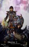 Skyrim 2 :: War of the Dovahkiin by hiei14