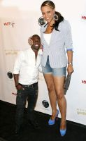 Kevin Hart and Shaunie O'Neal by lowerrider