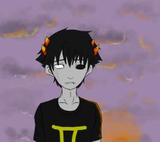 Sollux [ What's The Color Of The Sky ] by GinJinKun