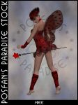 LadyBug Faerie 015 by poserfan-stock
