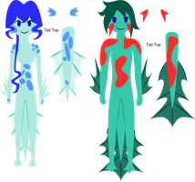 Onamiki Ref Sheet (READ ARTIST COMMENTS) by ecadopts