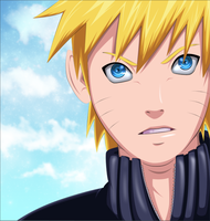 NARUTO uzumaki by DartRoberth