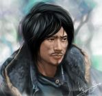 the handsomest beggar in China by sinoaXu