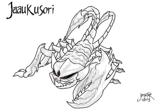 monster design contest entry 2 by GuildAdventure