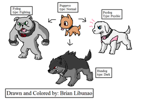 Fakemon: Dogs remake by Brian12