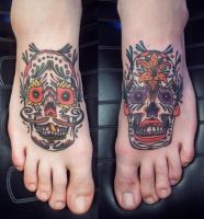 Sugar Skulls by JBrettPrince