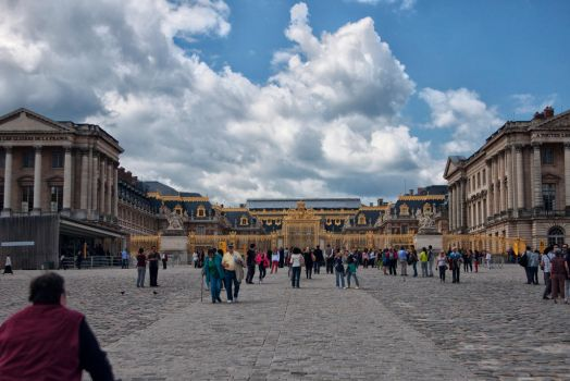 Palace at Versailles by Joe795