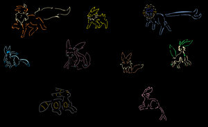 Eeveelution background by prussiawashere999