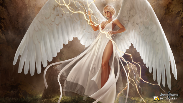 AngelSword - Sorceress Angel by tomafeizogas