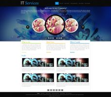 Website for IT Services by Mughalkamran