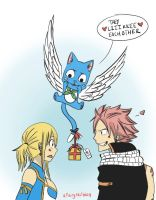 Nalu Week: Day One- Gifts! by aimless-heart