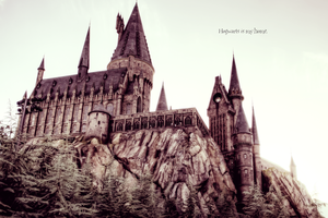 Hogwarts Is My Home. by purebl0od