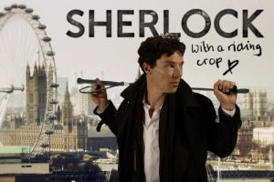 Yes. I gave him a Riding Crop by MrsCumberbatch