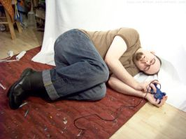PS2 Guy Laying Down : 02 by taeliac-stock