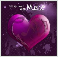 Fill My Heart With Music by sevengraphs