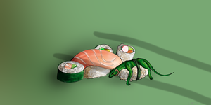 Sushi time! by flannery123