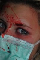 bloody eye by AngelicPicture