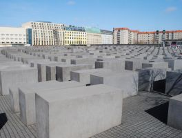 Holocaust Memorial Berlin I by ghirigori
