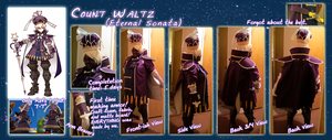 Count Waltz Sheet [COSPLAY COMPLETED] by MidnightPursona