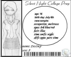Silent  Night College prep by shadowclone