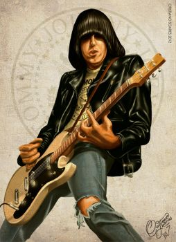 Johnny Ramone by christiano-bill
