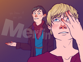 BBC Merlin by The-Troglodyte