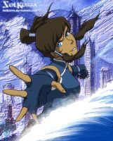 Korra Water Bender 2nd Editon by SolKorra