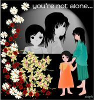 .:u're not alone:. by airyh