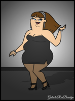 Total Drama Staci - Great Date! by Galactic-Red-Beauty