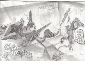 LOKISS battleS by AMHER