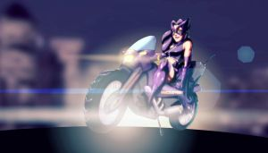 Huntress Bike by AviKishundat
