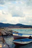 Boats in Arkutino by sunflower983