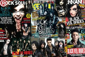 Black Veil Brides Poster by marshmallow-away
