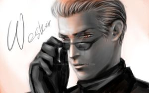 Albert Wesker 2 by xiaofeihui