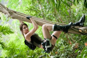 Lara Croft Jungle by ChristophGerlach