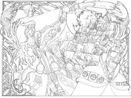 81Keys Panel Line Art 03 by cyl1981