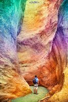 Rainbow Canyon by BenHeine